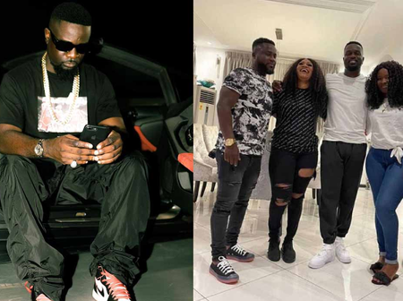 Beautiful Sisters Of The Iconic Rapper Sarkodie And Their Husbands