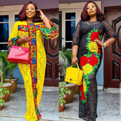 30 Sophisticated Lace, Ankara Boubou Gowns That Will Always Make You Stand Out