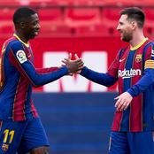 Instead Of Signing Messi, PSG Should Buy Ousmanne Dembele Instead.