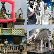 Find Out Secrets on why Fante People are still keeping their gods & Founders Statues at Mankessim