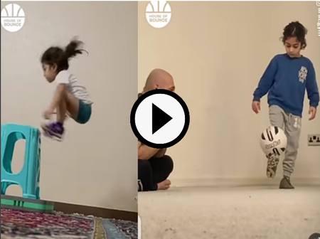 This Kid Is Really Good, See His Incredible Football And Training Skills (Video)