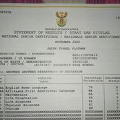 A Coloured Student Who Passed With Flying Colours Was Allegedly Rejected By NSFAS.