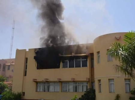 Burkina Faso: un incendie est survenu ce lundi 21 septembre dans les locaux de l'Assemblée nationale