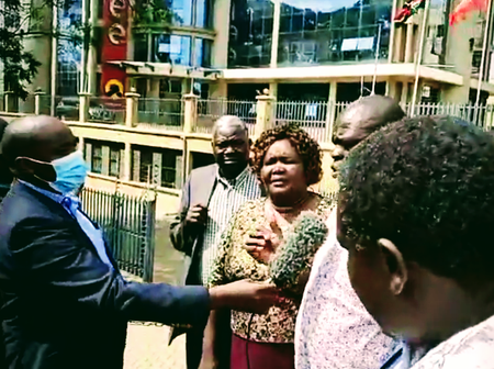 What Baringo MCAs Boldly Told Tuju As They Lectured Him At Pangani Today [Video]