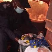 Bingerville : Des sapeurs-pompiers font accoucher une femme dans leur véhicule