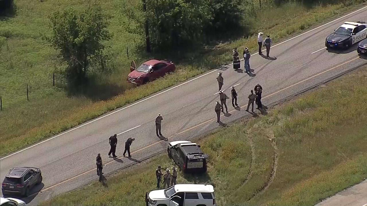 Hill County Constable Shot During Police Chase
