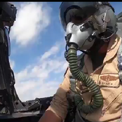 VIDEO: Watch How Saudi Air Force Joined US Air Force Today for Joint Training Exercise