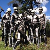 See The Remote Skeleton Tribe In Africa That Dress Up As Corpses To Scare Off Their Enemies