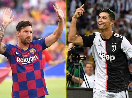 G.O.A.T : See The Records Set By Ronaldo And Messi That No Other Player Has