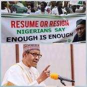 Nigerian Students And Workers Blows Hot, Demands For Sacking Of Buhari (Details)