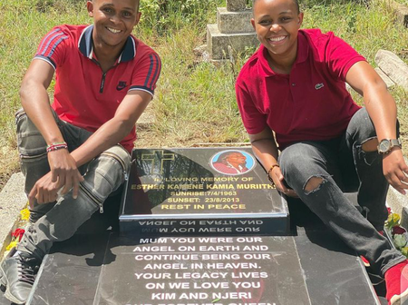 'Your Legacy Lives On Forever' Makena Njeri Celebrates Her Late Mother's 58th Birthday