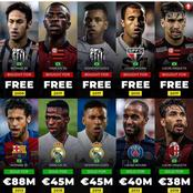 Neymar & Vinicius Top The List Of Top 10 Biggest deals in Brazilian Seria A.