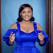 Love yourself first- McBrown tells netizens as she stuns in blue outfit