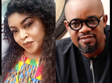 Check Out What Nkiru Sylvanus Said About Nollywood Actor, Charles Inojie