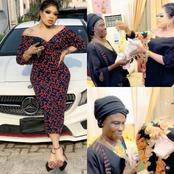 Mama Just Met An Angel On Earth, Bobrisky Says As she Spoils Mama With Money (Video)