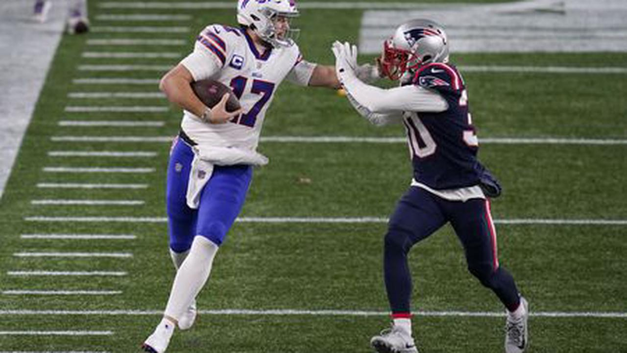 Bills' Josh Allen delivers knockout punch to Patriots' season (12 reasons to be encouraged, 2 reasons to be worried)