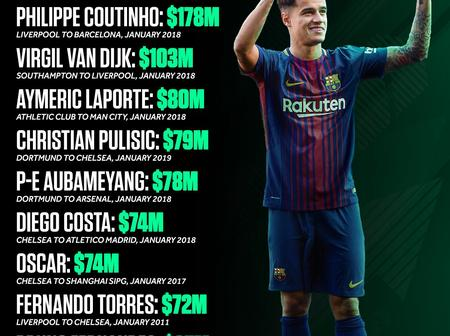 The Most Expensive January Transfer Ever. Were they worth it!