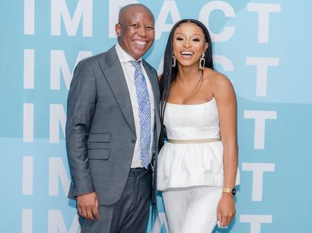 People are talking about the Pictures of Julius Malema and Dj Zinhle: See this