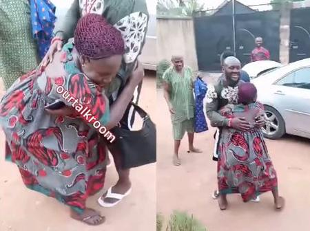 12 Years After Son Left Home, Check out What His Mother Did To Celebrate Him