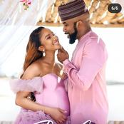 Banky W's wife shares new baby bump photos