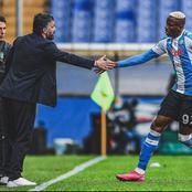 Spanish La Liga and EPL stars react after Victor Osimhen shares new post (Photos)