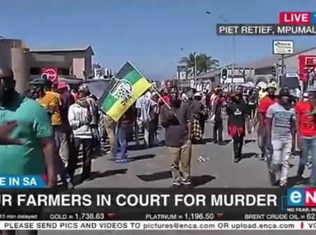 Crime in SA, Four Farmers in murder.