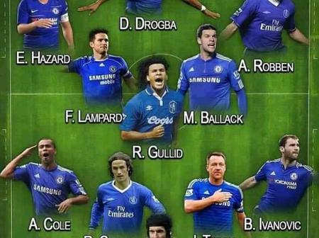 Is This The Greatest Chelsea's Team Of the Decade? (Photos)