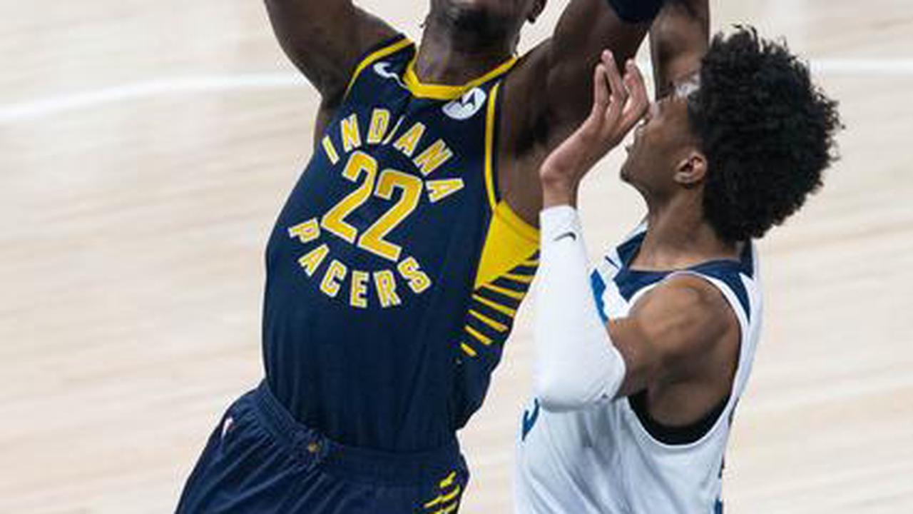 Aaron Holiday leads undermanned Pacers past Timberwolves