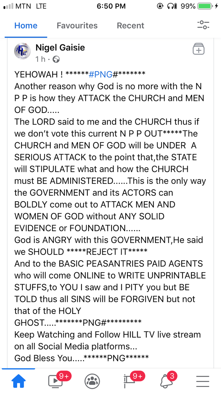 """1c392ad8d15d991a6e338d7550c7adfe?quality=uhq&resize=720 - """"God Is Angry With The Gov't, He Said We Should Reject It"""" - Nigel Gaisie Reveals"""