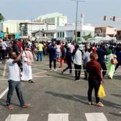 EndSars protests turn violent in Abuja