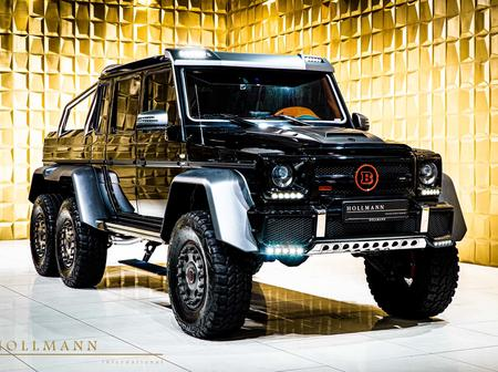 The relaunch of g63 6x6 amg it's normal but exclusive