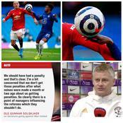 Ole Gunner Solskjaer Reacts On VAR Decision Vs Chelsea