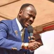 I said Covid-19 should not end in error -Apostle Suleman