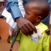 Mixed Reactions As People Spray Money On Boy Who Asks People To Vote For PDP