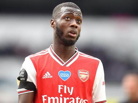 Nicolas Pepe might leave Arsenal over his lack of playtime. See his unhappy messages.