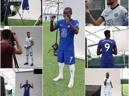 See the beautiful pictures of Chelsea Players from their Photoshoot at Cobham