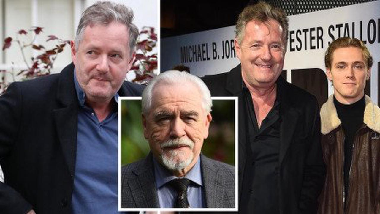 Piers Morgan's son makes dig about 'egomaniac dad after watching Succession
