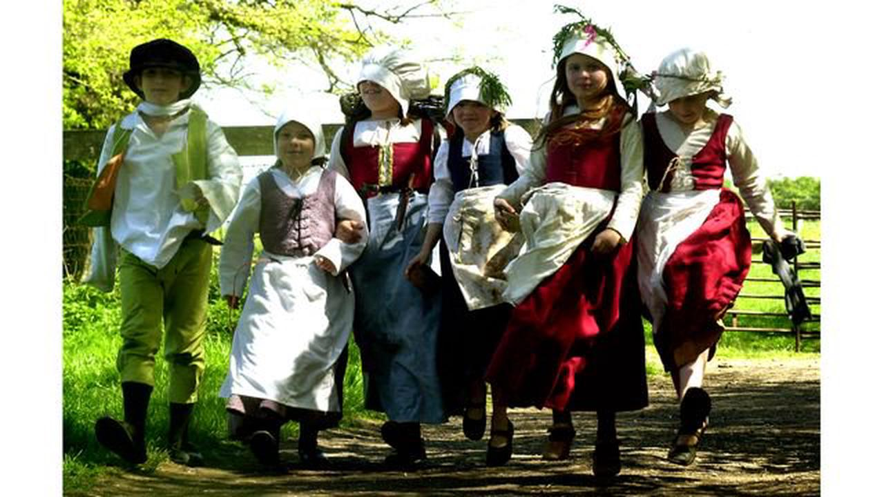 Are you in living history photos from Kentwell Hall?