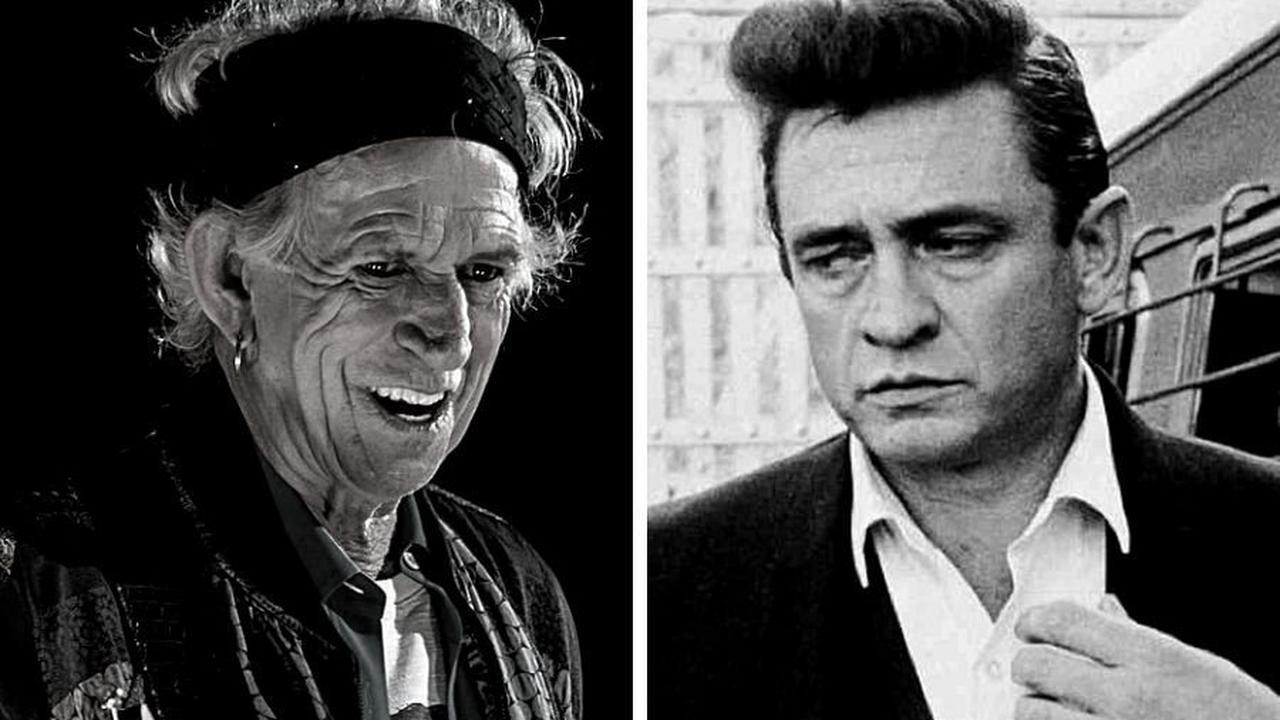 How Johnny Cash influenced Keith Richards
