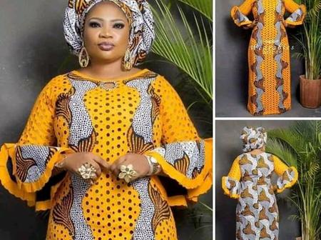 Check Out Stunning Boubou Gown Styles For Elegant Ladies
