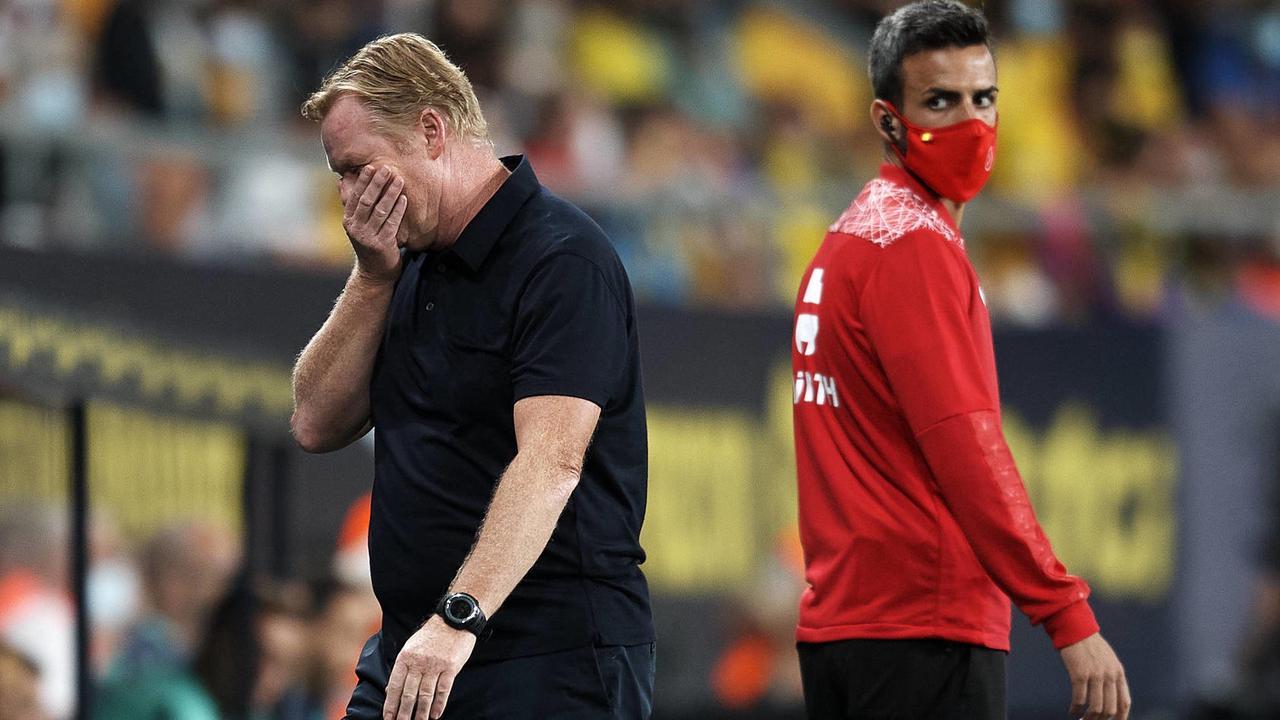 Der FC Barcelona blamiert sich schon wieder, Koeman sieht Rot - und fliegt?