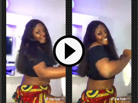 Reactions As Lady Showed Up An Incredible Waist Dance For Her Fans In New Video