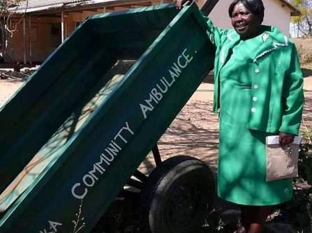 This Zimbabwean community Ambulance causes a stir on the internet.