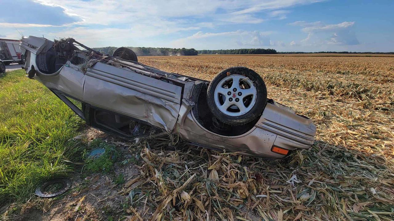 Southern Indiana man dies in rollover crash Saturday in Jennings County