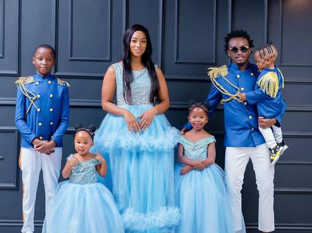 Top Ten Photos of Singer Bahati that Proves He is the Best Family Man in Africa