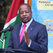 Bad News Reported in Nairobi & Kisumu Counties as MOH Reveals the Following