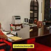 President Uhuru 'Watches' Selina After Meeting Pascal