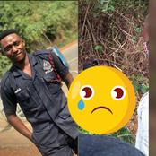 One Man Down:Police Officer Constable Amos Reportedly Murdered In Cold Blood At Sunyani