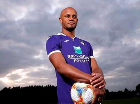 Footballers with degrees: Kompany, Mata and 3 others.
