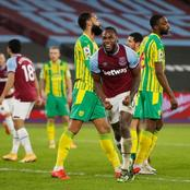 West Ham United overtake Chelsea on the table after latest victory over West Bromwich Albion